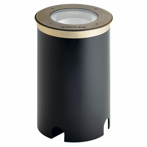 Kichler Lighting 16230 C-Series - 20W 3000K 1 LED In-Ground Light 10.25 inches tall by 6.25 inches wide