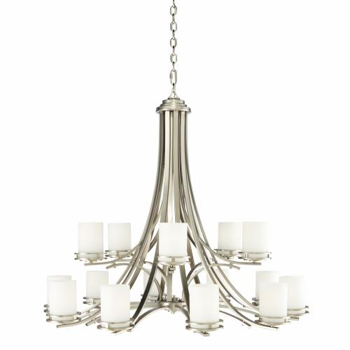 Kichler Lighting 1675NI Hendrik - Fifteen Light Two Tier Chandelier