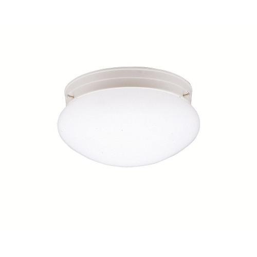 Kichler Lighting 208WH Ceiling Space - 1 light Flush Mount - with Utilitarian inspirations - 5 inches tall by 9 inches wide