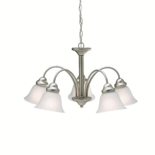 Kichler Lighting 2093 Wynberg - 5 light Chandelier - 13.75 inches tall by 24.5 inches wide