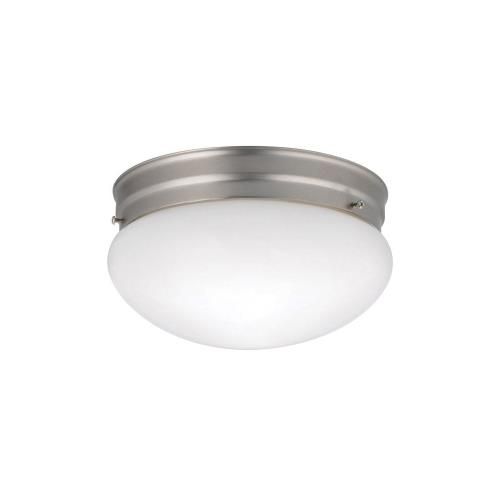 Kichler Lighting 209 Ceiling Space - 2 Light Ceiling Mount - with Utilitarian inspirations - 5.25 inches tall by 8.75 inches wide