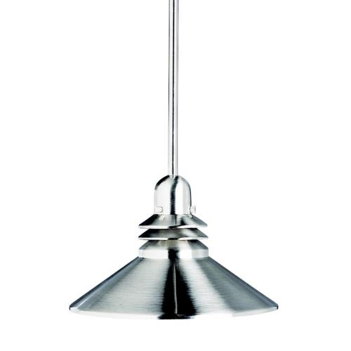 Kichler Lighting 2714NI Grenoble - 1 light Pendant - with Soft Contemporary inspirations - 8 inches tall by 11 inches wide