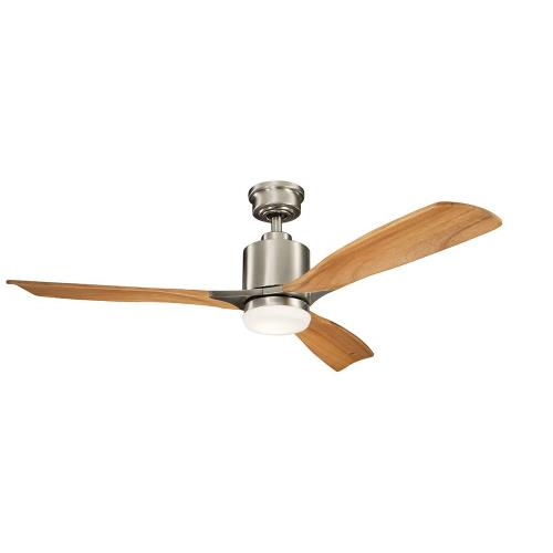 Kichler Lighting 300027 Ridley II - Ceiling Fan with Light Kit - 52 inches wide