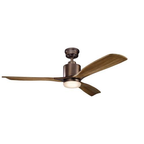 Kichler Lighting 300027 Ridley II - 52 Inch Ceiling Fan with Light Kit