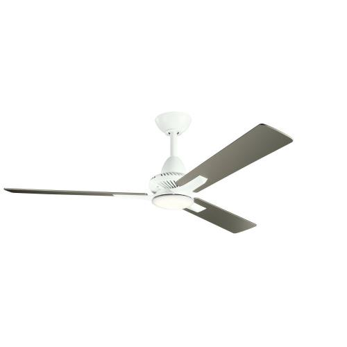 Kichler Lighting 300031 Kosmus - Ceiling Fan with Light Kit - with Contemporary inspirations - 15 inches tall by 52 inches wide