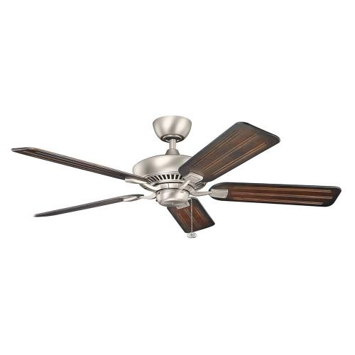 Kichler Lighting 300117 Canfield - Ceiling Fan - with Traditional inspirations - 13.5 inches tall by 52 inches wide
