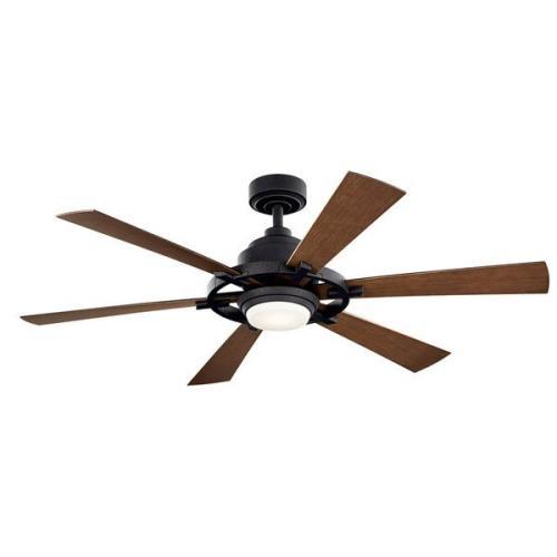 Kichler Lighting 300241 Iras - 52 Inch Ceiling Fan with Light Kit