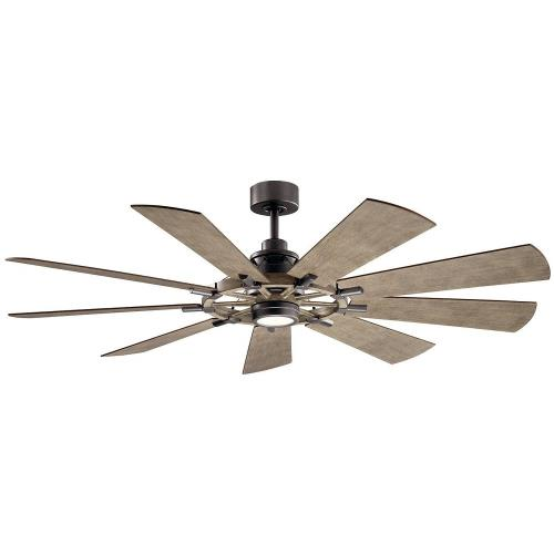 Kichler Lighting 300265 Gentry - 65 Inch Ceiling Fan with Light Kit