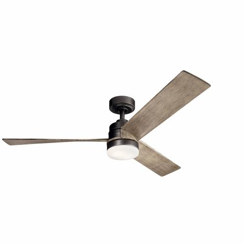 Kichler Lighting 300275 Spyn - Ceiling Fan with Light Kit - 14.5 inches tall by 52 inches wide