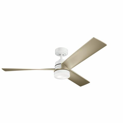 Kichler Lighting 300275AVI1 Spyn - 52 Inch Ceiling Fan with Light Kit
