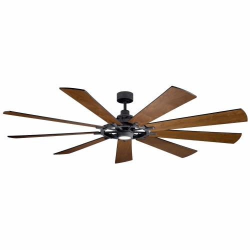 Kichler Lighting 300285 Gentry XL - Ceiling Fan with Light Kit - with Lodge/Country/Rustic inspirations - 16.5 inches tall by 85 inches wide