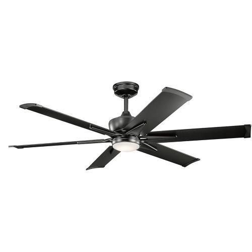 Kichler Lighting 300300 Szeplo Patio - Outdoor Ceiling Fan with Light Kit - 16.25 inches tall by 60 inches wide