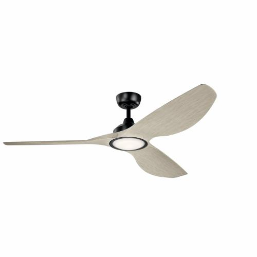 Kichler Lighting 300365 Imari - Ceiling Fan with Light Kit - with Contemporary inspirations - 14.5 inches tall by 65 inches wide