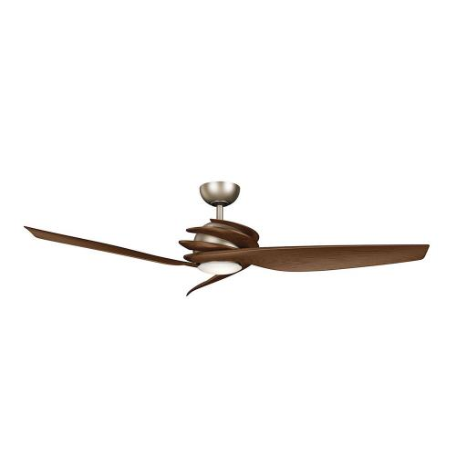 Kichler Lighting 300700 Spyra - Ceiling Fan with Light Kit - 14.25 inches tall by 62 inches wide