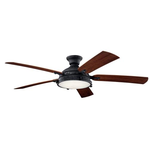 Kichler Lighting 310017 Hatteras Bay - 60 Inch Ceiling Fan with Light Kit