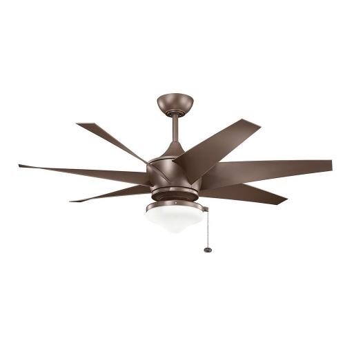 Kichler Lighting 310112 Lehr II - Ceiling Fan - with Contemporary inspirations - 20.25 inches tall by 54 inches wide
