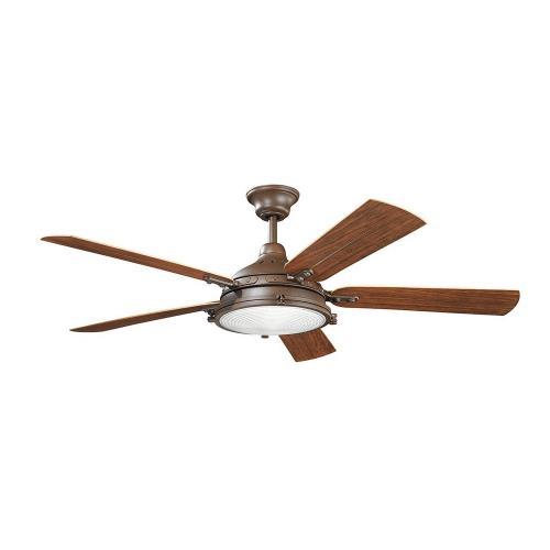 Kichler Lighting 310117 Hatteras Bay Patio - 60 Inch Ceiling Fan with Light Kit