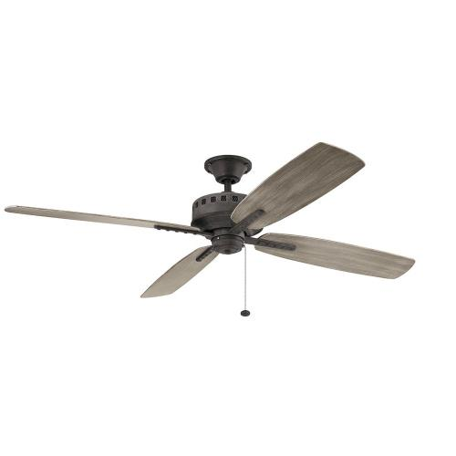 Kichler Lighting 310165 Eads - Ceiling Fan - with Utilitarian inspirations - 14 inches tall by 65 inches wide