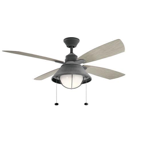 Kichler Lighting 310181 Seaside - 54 Inch Ceiling Fan with Light Kit
