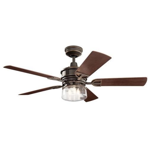 Kichler Lighting 310239 Lyndon Patio - 52 Inch Ceiling Fan with Light Kit