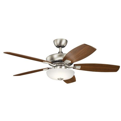 Kichler Lighting 330013 Canfield Pro - Ceiling Fan with Light Kit - with Traditional inspirations - 18.5 inches tall by 52 inches wide