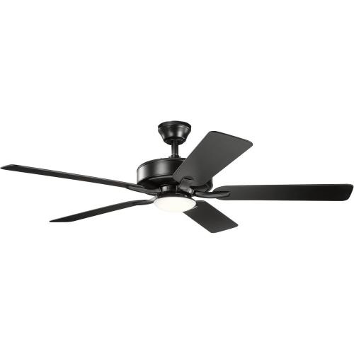Kichler Lighting 330019 Basics Pro Designer - Ceiling Fan with Light Kit - with Transitional inspirations - 12.5 inches tall by 52 inches wide