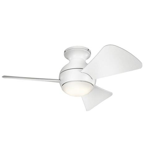 Kichler Lighting 330150 Sola - Ceiling Fan with Light Kit - 11 inches tall by 34 inches wide