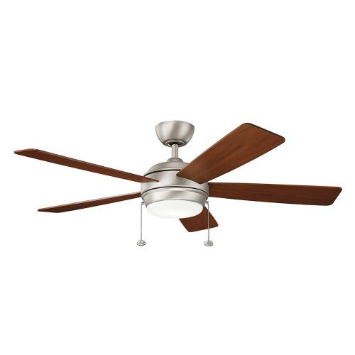 Kichler Lighting 330174 Starkk - Ceiling Fan with Light Kit - 13.75 inches tall by 52 inches wide