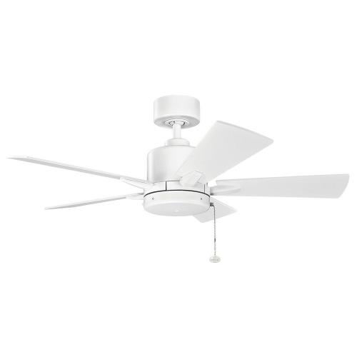 Kichler Lighting 330241 Bowen - Ceiling Fan - with Transitional inspirations - 13.5 inches tall by 42 inches wide