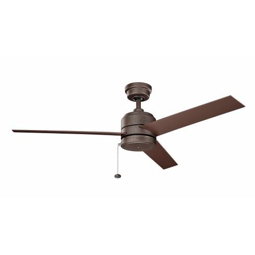 Kichler Lighting 339629 Arkwet - Ceiling Fan - with Transitional inspirations - 13.75 inches tall by 52 inches wide