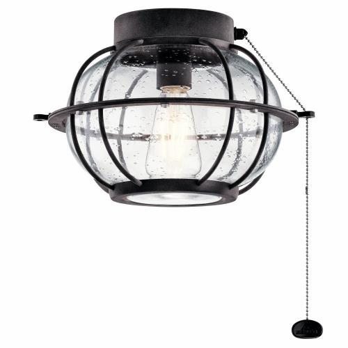 Kichler Lighting 380945 Bridge Point - 12.5 Inch 7W 1 LED Ceiling Fan Light Kit