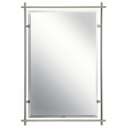 Kichler Lighting 41096NI Eileen - Mirror - with Contemporary inspirations - 39 inches tall by 26.5 inches wide