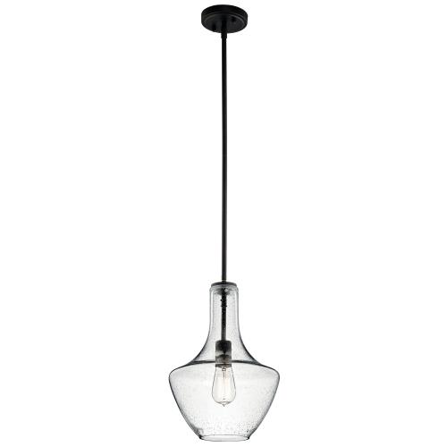 Kichler Lighting 42141 Everly - 10.50 Inch One Light Pendant