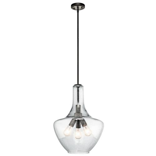 Kichler Lighting 42190 Everly - 3 light Pendant - with Transitional inspirations - 22.5 inches tall by 16 inches wide