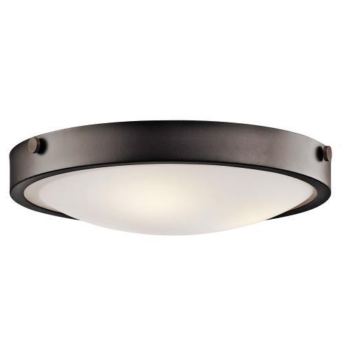 Kichler Lighting 42275OZ Lytham - Three Light Flush Mount