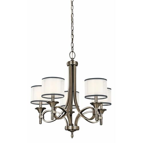 Kichler Lighting 42381 Lacey - 5 light Chandelier - with Transitional inspirations - 26 inches tall by 25 inches wide