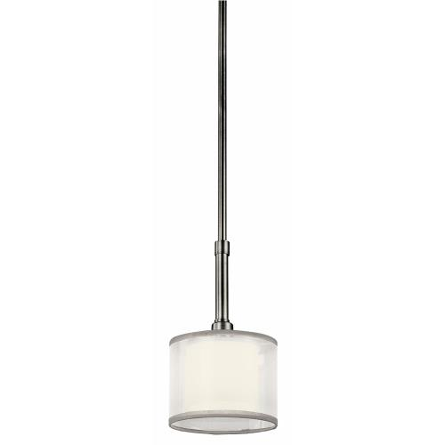 Kichler Lighting 42384 Lacey - 1 light Mini-Pendant - with Transitional inspirations - 10.25 inches tall by 6 inches wide