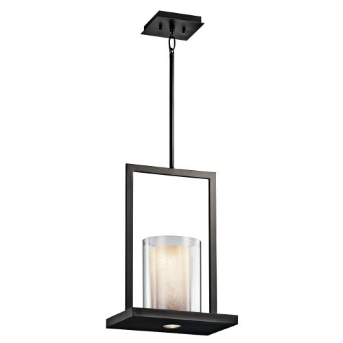 Kichler Lighting 42549 Triad - 1 light Pendant - 18 inches tall by 7.75 inches wide