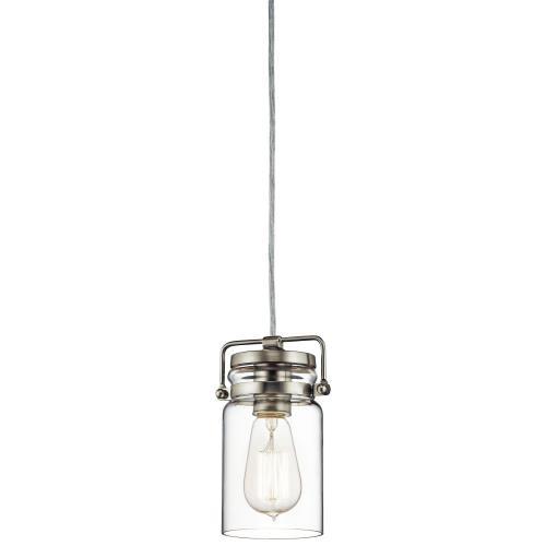 Kichler Lighting 42878 Brinley - One Light Mini-Pendant