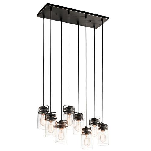 Kichler Lighting 42890 Brinley - Eight Light Pendant