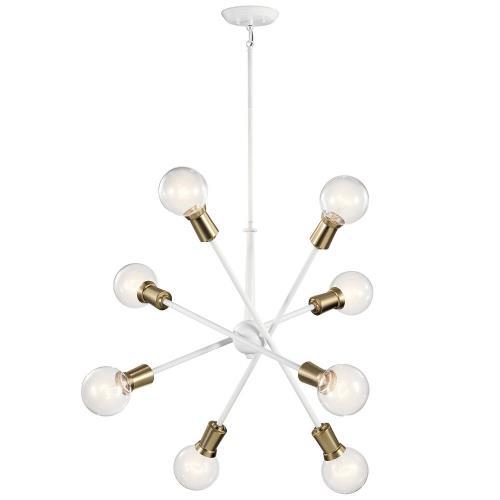 Kichler Lighting 43118 Armstrong - 8 Light Large Chandelier