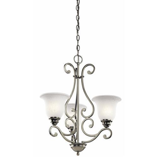 Kichler Lighting 43223NI Camerena - Three Light Chandelier