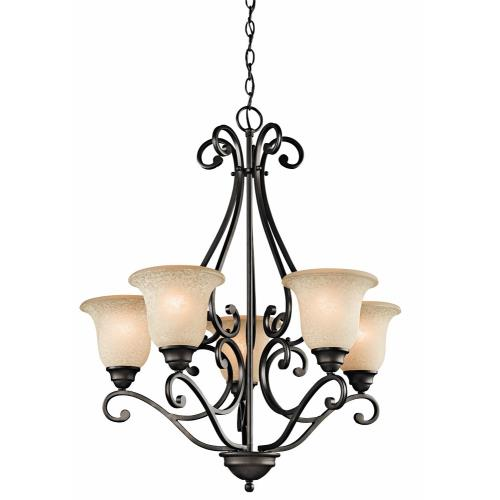 Kichler Lighting 43224 Camerena - 5 Light Chandelier - with Traditional inspirations - 31.25 inches tall by 27 inches wide