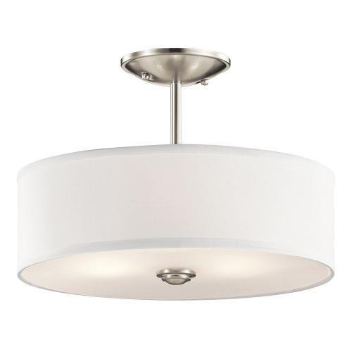 Kichler Lighting 43675 Shailene - Three Light Semi-Flush Mount