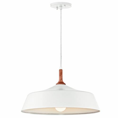 Kichler Lighting 43683 Danika - 1 light Pendant - with Mid-Century/Retro inspirations - 9.25 inches tall by 16.25 inches wide