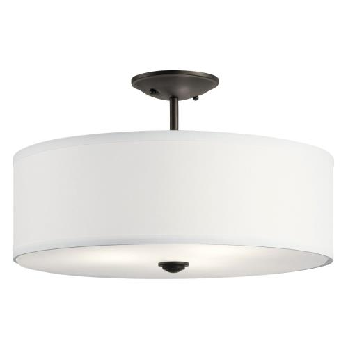Kichler Lighting 43692OZ Shailene - Three Light Semi-Flush Mount