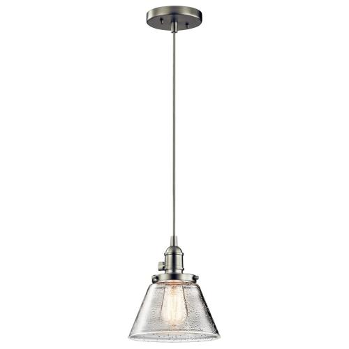 "Kichler Lighting 43851 Avery - 8.75"" One Light Mini Pendant"