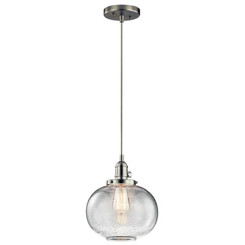 "Kichler Lighting 43852 Avery - 9.5"" One Light Mini Pendant"