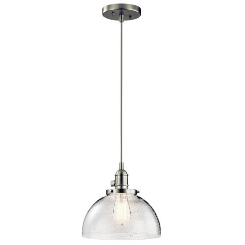 Kichler Lighting 43853 Avery - 9.251 light Mini Pendant - with Vintage Industrial inspirations - 9.25 inches tall by 10 inches wide