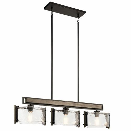 Kichler Lighting 43896OZ Aberdeen - Three Light Linear Chandelier